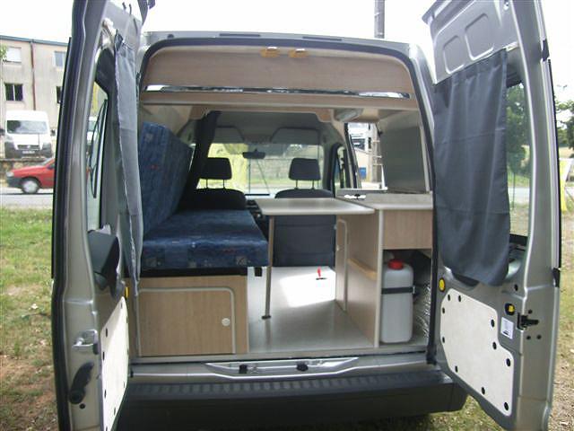 Extrêmement Aménagement de fourgons en camping car sur mesure AI12